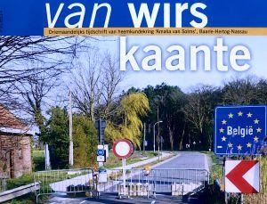 Uitsnede voorzijde tijdschrift Van Wirs Kaante
